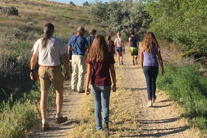 Trinity Lutheran Church youth hike